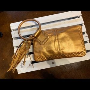 HOBO Sable Wristlet Clutch - New Penny NWT
